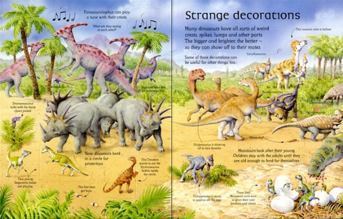 See inside the world of dinosaurs [3]