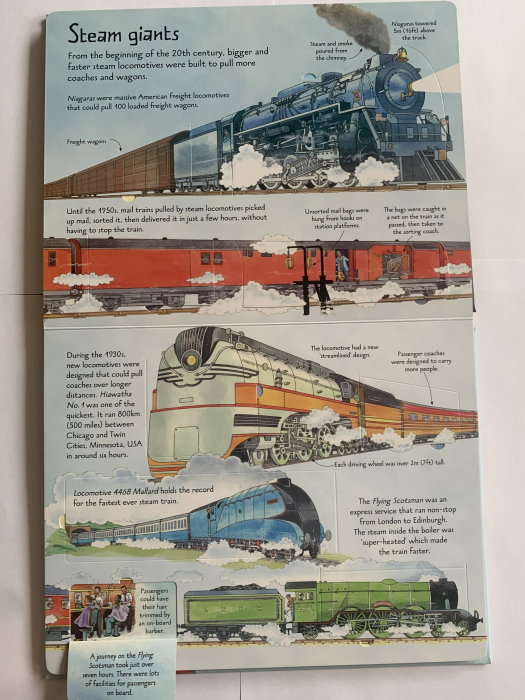 See inside trains [4]