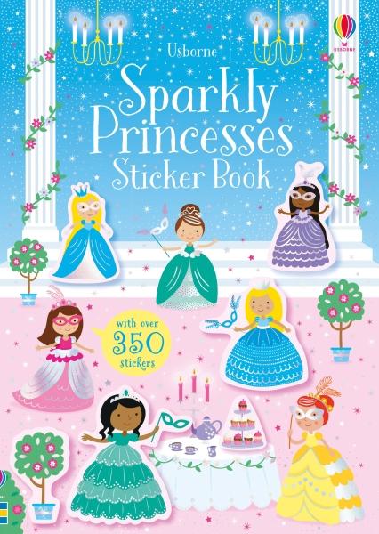 Sparkly Princesses Sticker Book [0]