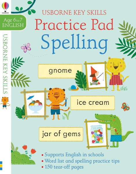 Spelling practice pad 6-7 [0]
