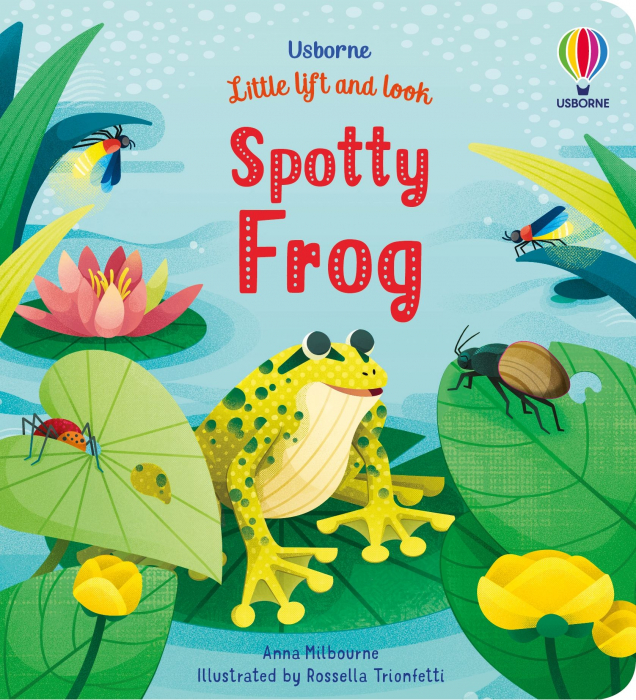 Spotty Frog Little Lift And Look [0]