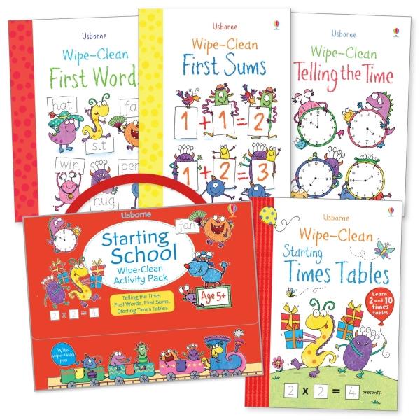Starting school wipe-clean activity pack [0]