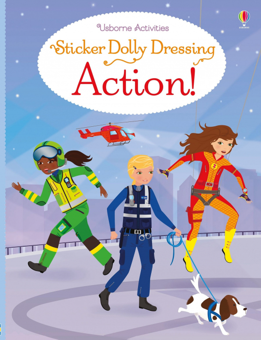 Sticker dolly dressing Action! [0]