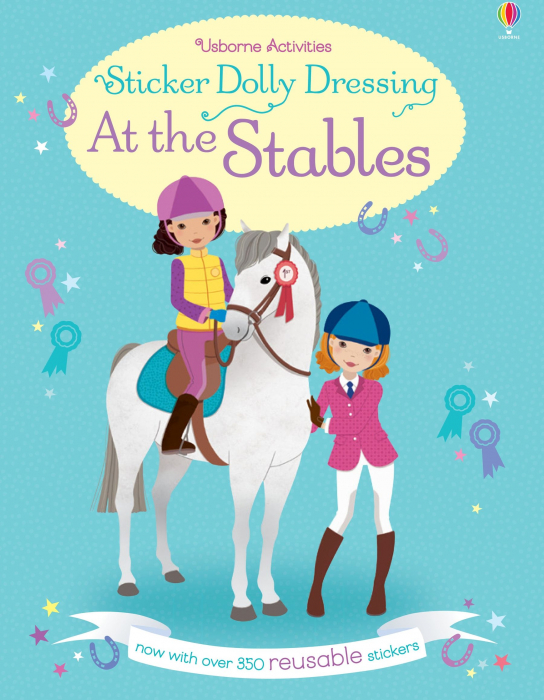 Sticker dolly dressing At the stables [0]