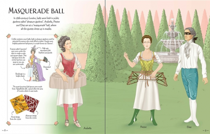Sticker dolly dressing Ball gowns [1]