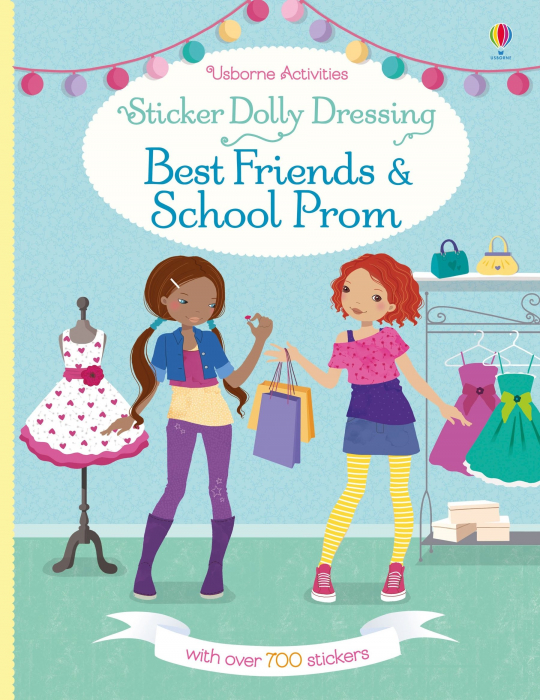 Sticker dolly dressing Best friends and school prom [3]