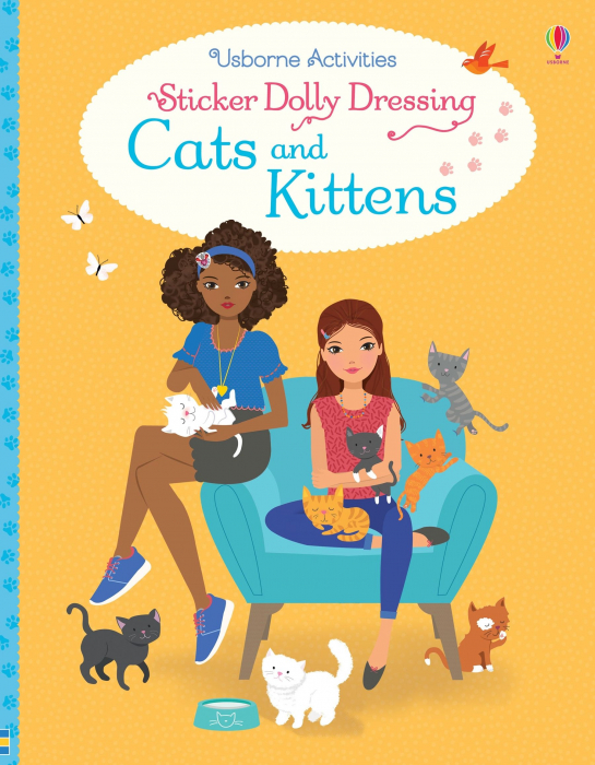 Sticker dolly dressing Cats and kittens [0]