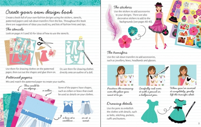 Sticker dolly dressing Design Studio: Party Clothes [1]
