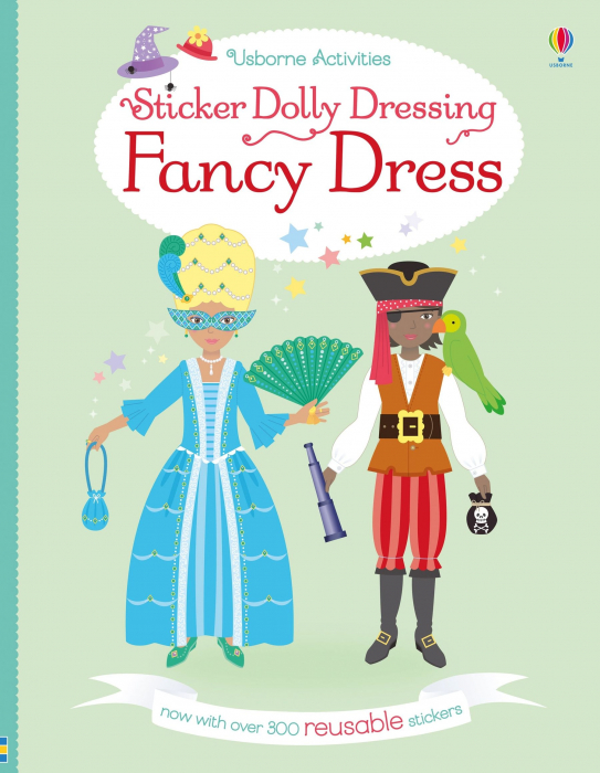 Sticker dolly dressing Fancy dress [0]