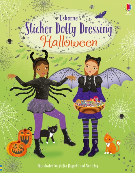 Sticker dolly dressing Halloween [0]