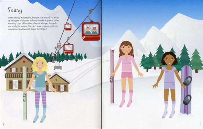 Sticker dolly dressing Holiday and travel [2]