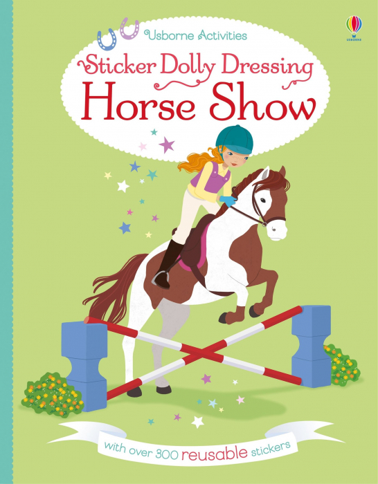 Sticker dolly dressing Horse Show [4]