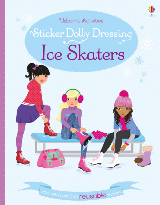 Sticker dolly dressing Ice skaters [0]