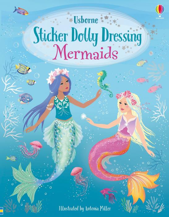 Sticker dolly dressing Mermaids [0]