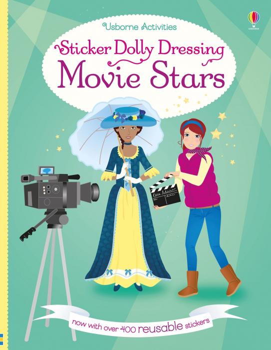 Sticker dolly dressing Movie stars [0]