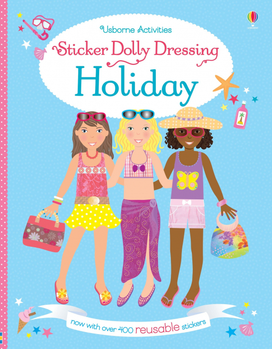 Sticker dolly dressing On holiday [0]