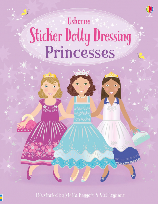 Sticker dolly dressing Princesses [0]