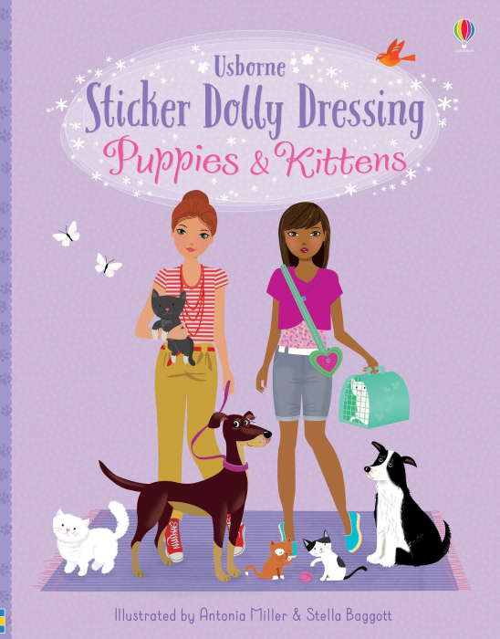 Sticker dolly dressing Puppies and Kittens [0]