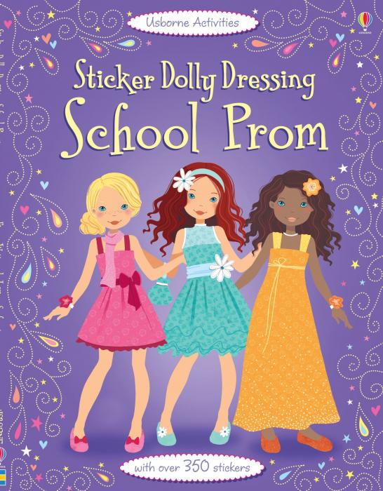 Sticker dolly dressing School prom [0]