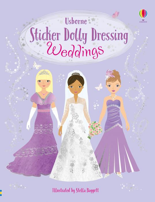 Sticker dolly dressing Weddings [0]