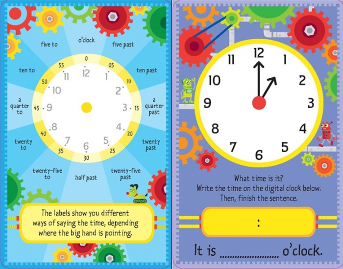 Telling the time flash cards [1]