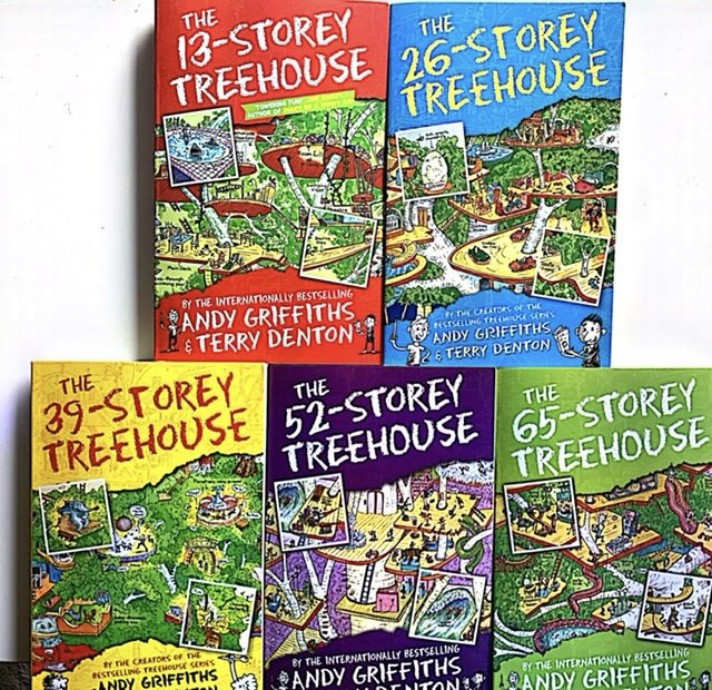 The 13-Storey Treehouse Collection Andy Griffiths and Terry Denton 5 Books Set [1]