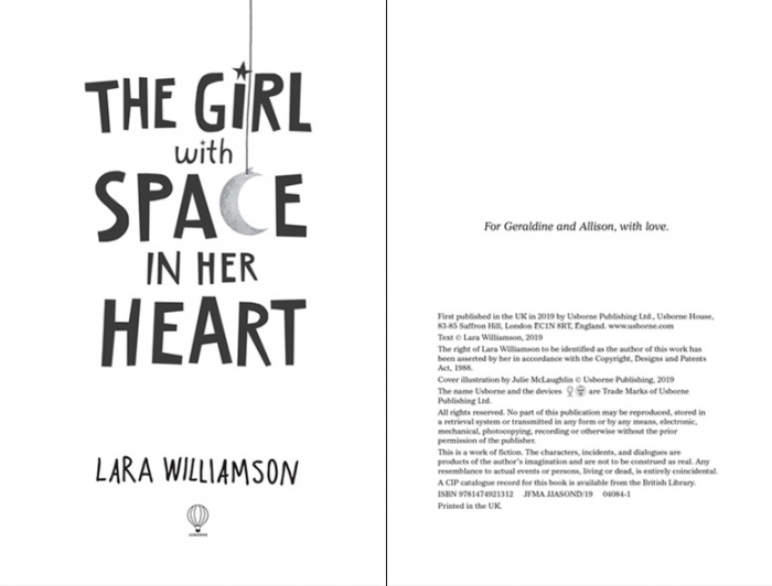 The Girl with Space in Her Heart [1]