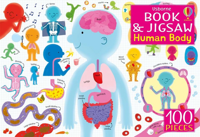 The human body book and jigsaw [0]