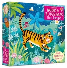 The Jungle picture book and three jigsaws [0]