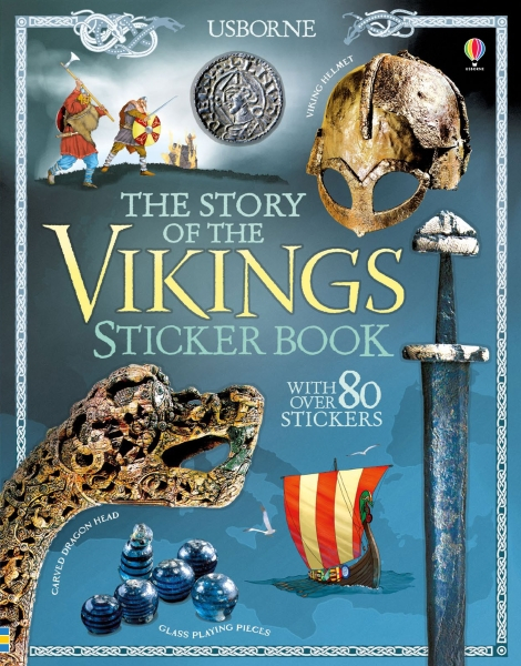 The story of the Vikings sticker book [0]