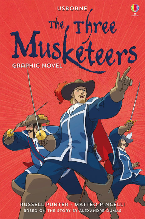 The Three Musketeers graphic novel [0]