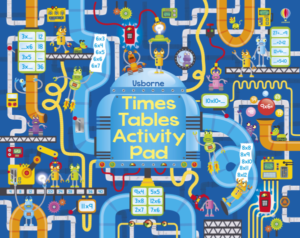 Times tables activity pad [0]