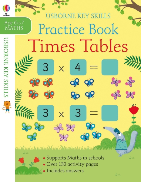 Times Tables Practice Book 6-7 [0]