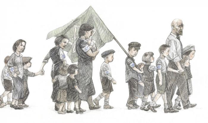 Ultima călătorie. Doctorul Korczak și copiii săi [16]