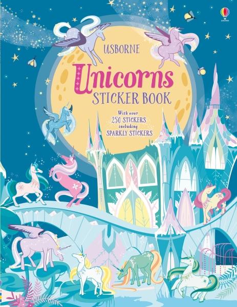 Unicorns sticker book [0]