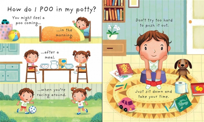 Why do we need a potty? [3]