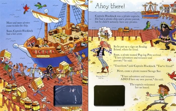 Wind-up pirate ship [1]