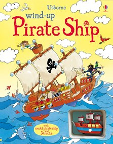 Wind-up pirate ship [0]