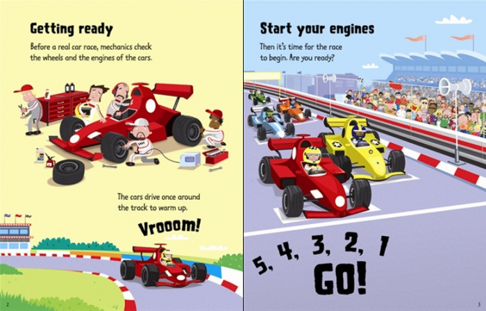 Wind-up racing cars [1]