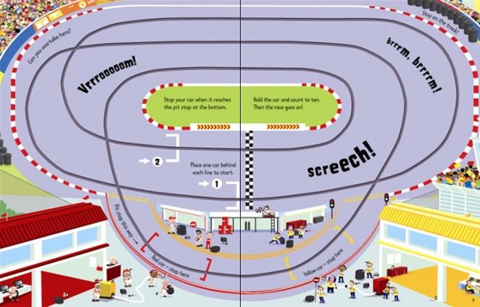 Wind-up racing cars [3]