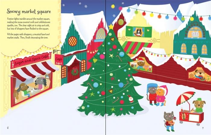 Winter wonderland sticker book [1]