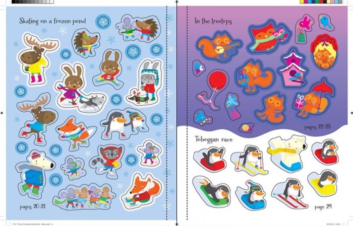 Winter wonderland sticker book [3]