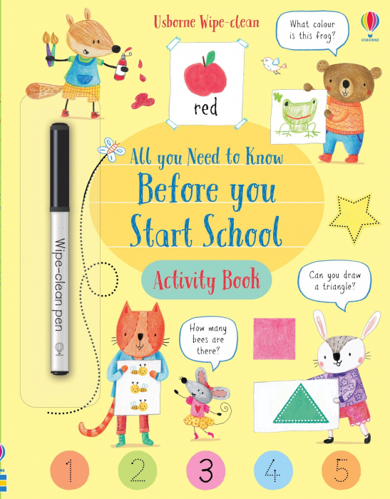Wipe-Clean All You Need to Know Before You Start School Activity Book [0]