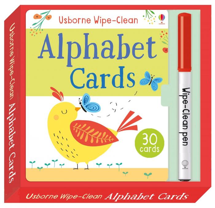 Wipe-clean alphabet cards [0]