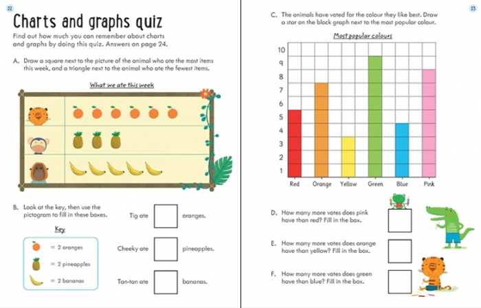 Wipe-clean charts and graphs 6-7 [2]