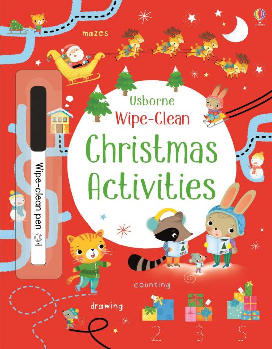 Wipe-clean Christmas activities [0]