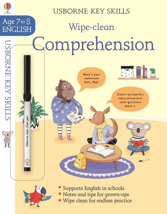 Wipe-Clean Comprehension 7-8 [0]