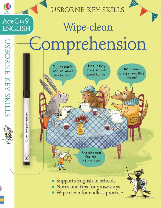 Wipe-Clean Comprehension 8-9 [0]