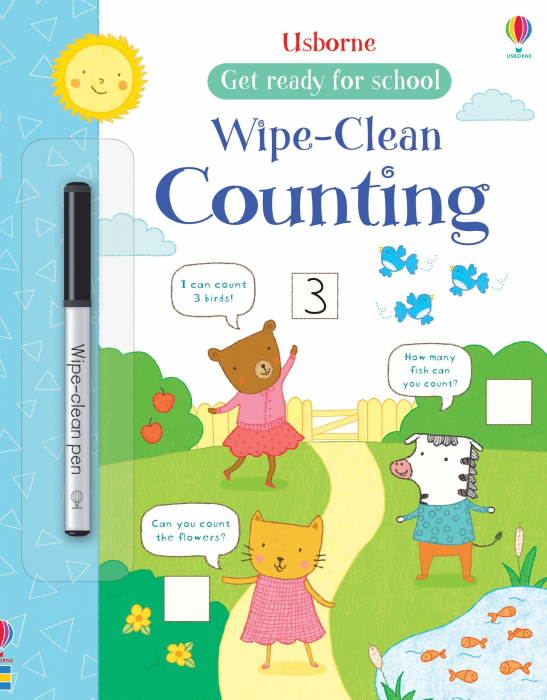 Wipe-clean counting [0]