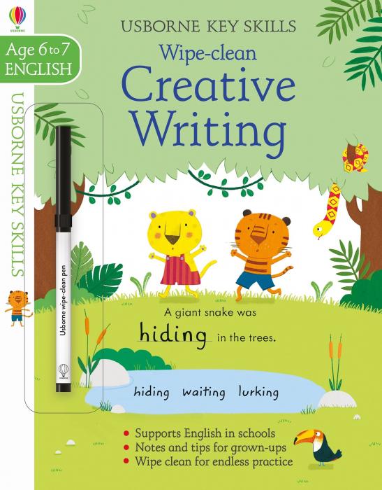 Wipe-clean creative writing 6-7 [0]